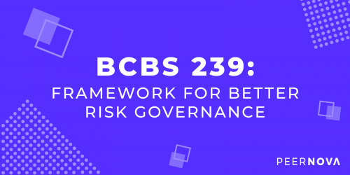 BCBS 239: Framework For Better Risk Governance