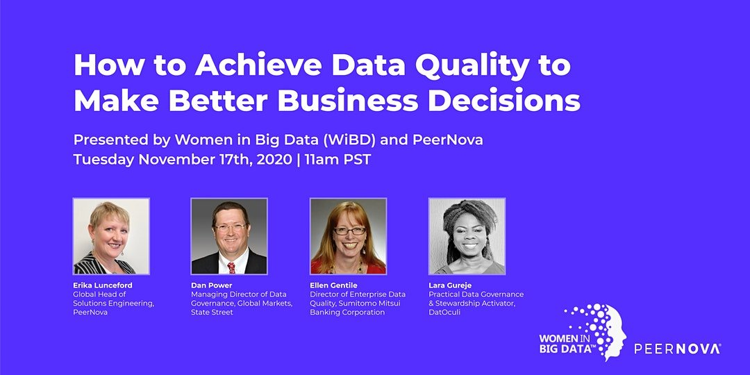 PeerNova and Women in Big Data Event