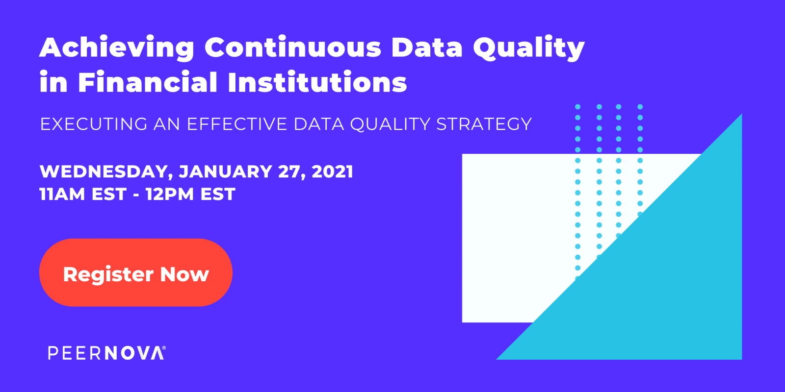 Achieving Continuous Data Quality in Financial Institutions Webinar